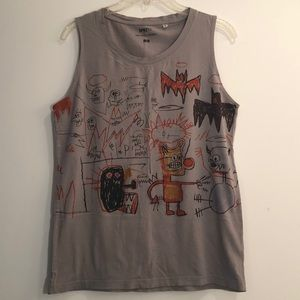 Uniqlo Jean Michel Basquiat Tank Top